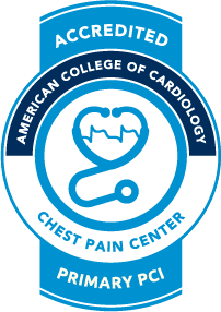 McKenzie-Willamette is an Accredited Chest Pain Center with Primary PCI